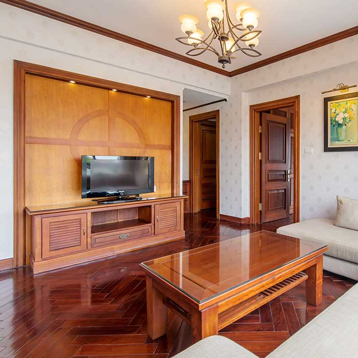 Luxury Cabin Room 2BR/2BT with Greenery City view