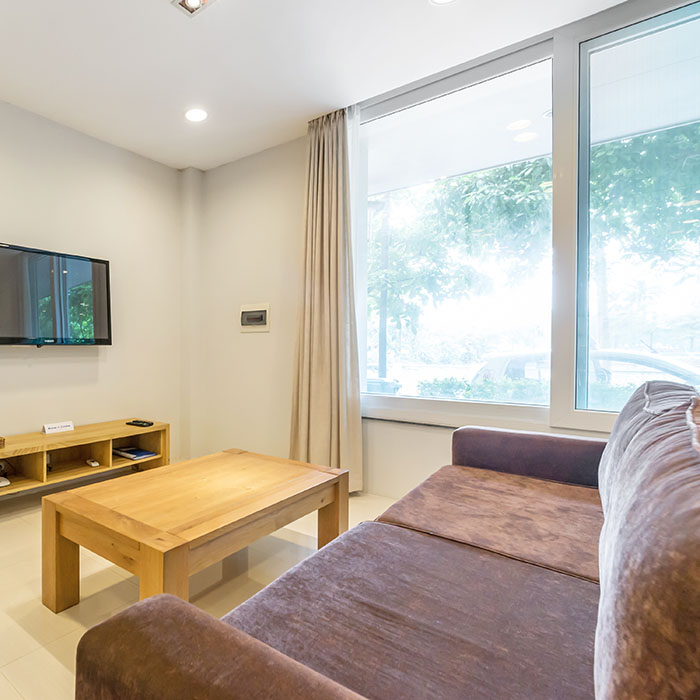 Spacious room with Loft Style 1BR/1BT 1st floor near Tay ho Lake