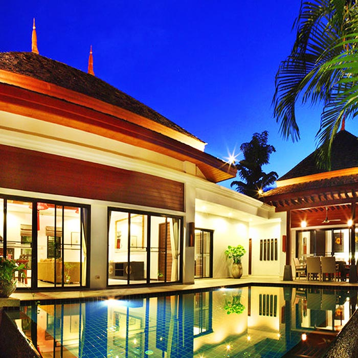 Family Private Pool Villa