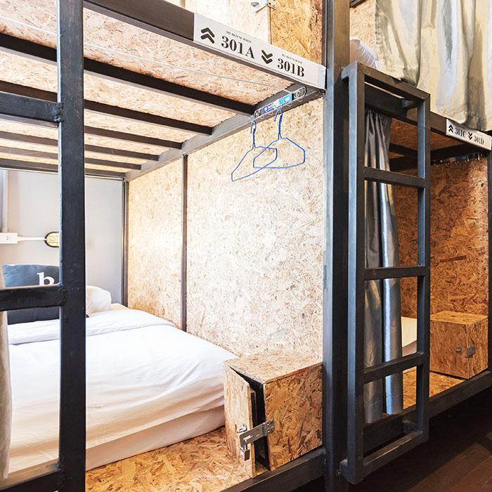 8bed Dorm per bed