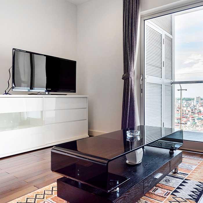 Modern Luxury Apt. Studio with King Size 1BR/1BT
