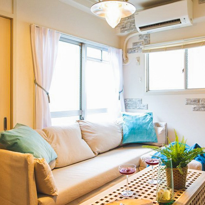 KP3 Cozy 2BD Room in Dotonbori Namba