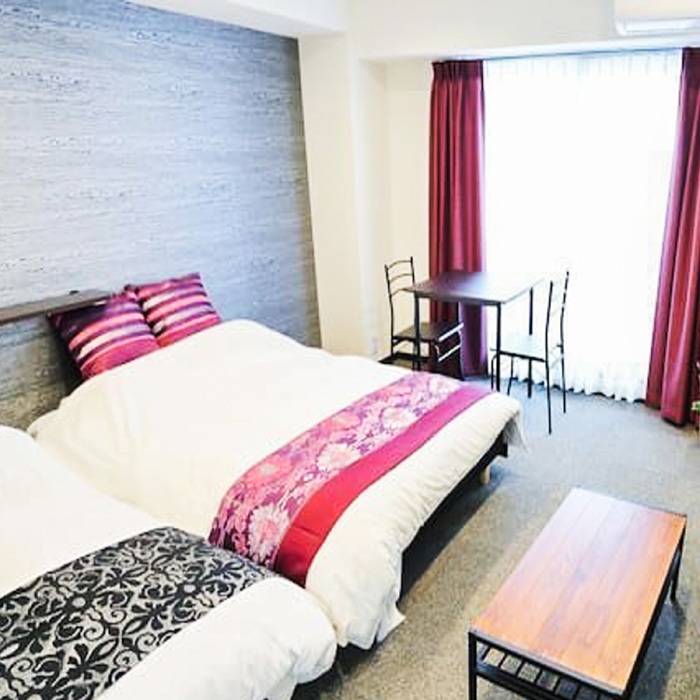 10mins walk to shinsaibashi GS2-402 Akizero Apartment