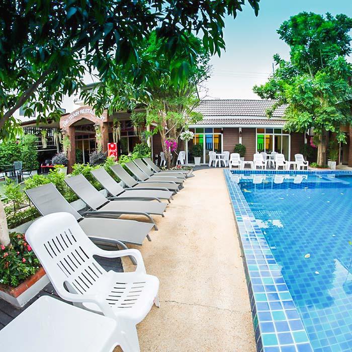 Light-filled holiday Resort & Spa