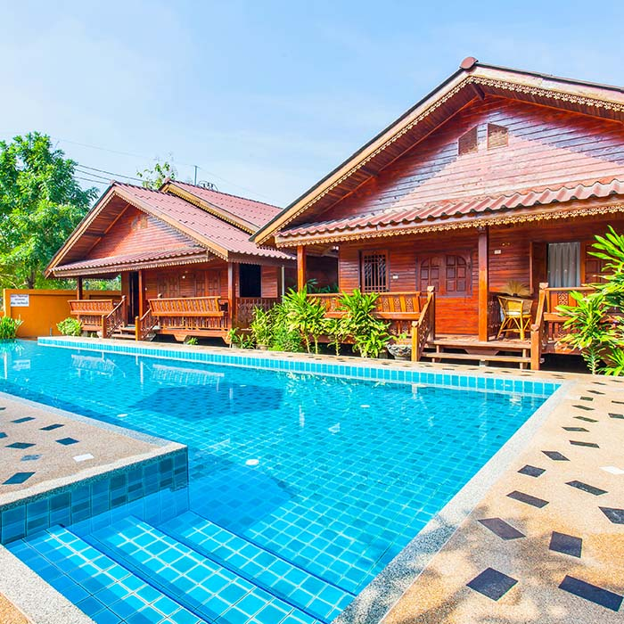 Traditional Wooden Cabin Pattaya