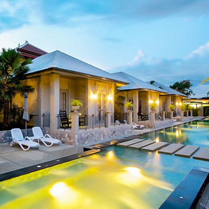 Tropical Retreat 9 Bedroom Pool Villa Near Walking Street