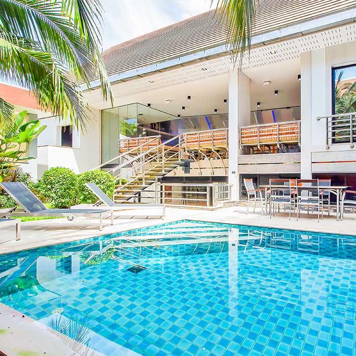 Sunshine Hills Villa 4 Bedroom Near Walking Street