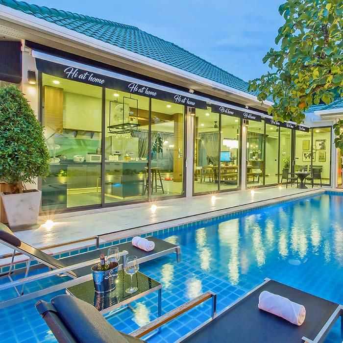 Serene  Luxury 4 Bedroom Villa