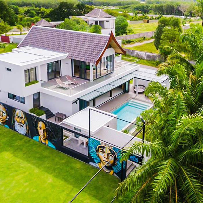 Villa of Legends with Football Pitch & Pool
